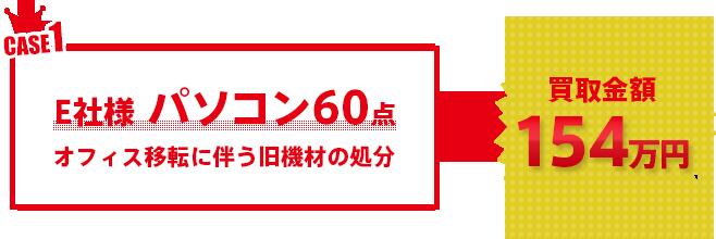 E社様 パソコン60点