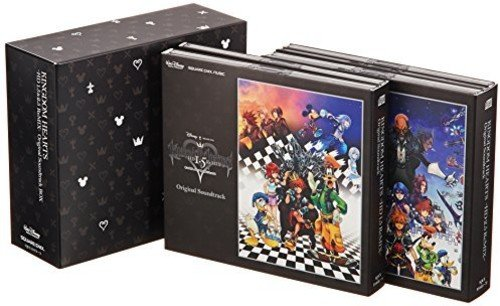 KINGDOM HEARTS -HD 1.5 & 2.5 ReMIX- Original Soundtrack BOX Limited Edition