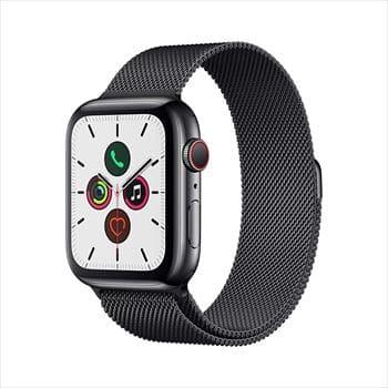 Apple Watch Series 5 (GPS+Cellularモデル)44mm ステンレススチールケースとミラネーゼループ