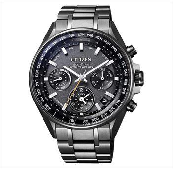 CITIZEN アテッサ CC4004-58E エコ・ドライブ電波時計 ブラックチタンシリーズ