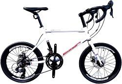 Eizer(アイゼル) ミニベロ アルミAL6061フレーム ニベロロードバイク M300
