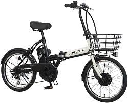 PELTECH(ペルテック) 折り畳み電動アシスト自転車 20インチ
