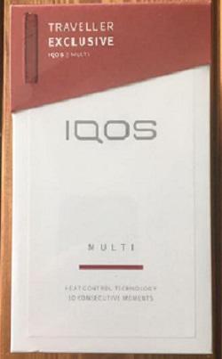 IQOS3 MULTI ラディアンレッド [国内正規品/新品・未使用]