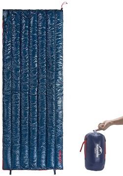 Naturehike 1人用 高級ダウン寝袋 570g/790g超軽量 封筒型 オールシーズン 防水 シュラフ キャンプ 登山 防災 災害 車中泊 連結可能