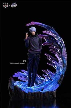 呪術廻戦 五条悟 1/6 27×24×36cmフィギュア模型完成品ガレージキット世界288体限定